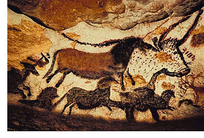 Cave Painting in France