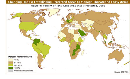 Worldwide Protected Areas